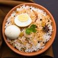 Egg dum biryani | Hyderabad special